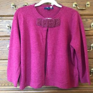 Boden cardigan with beaded closure - NWT - 14